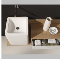 Lavabo Pie Solid Surface Puma 40