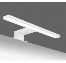 Aplique de baño led blanco de 30 cm